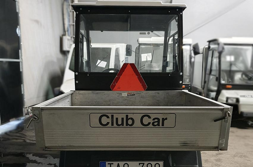 Begagnat elfordon Club Car Carryall 2 med flak 3