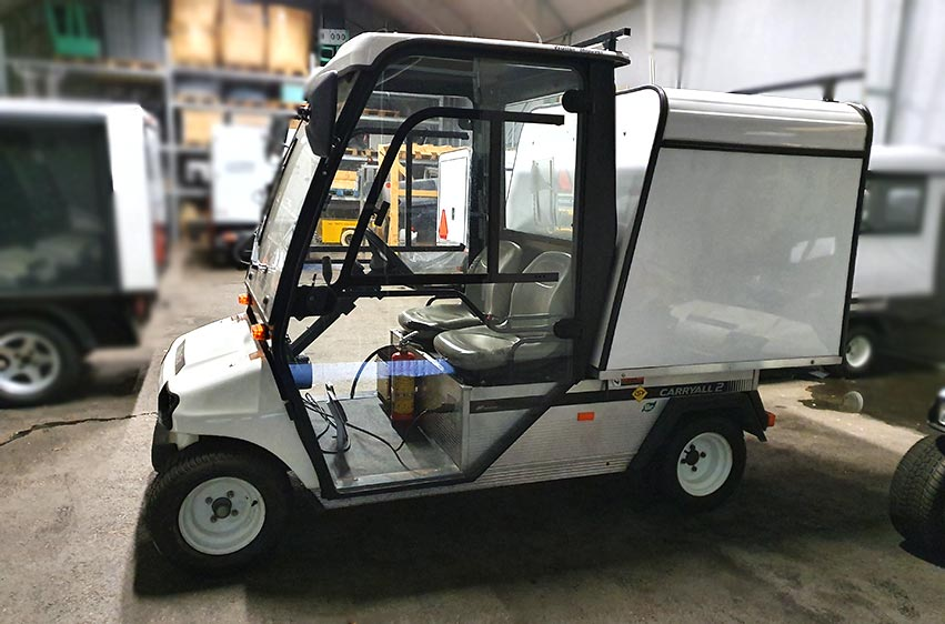Begagnat elfordon Club Car Carryall 2 LSV 48V stor 2