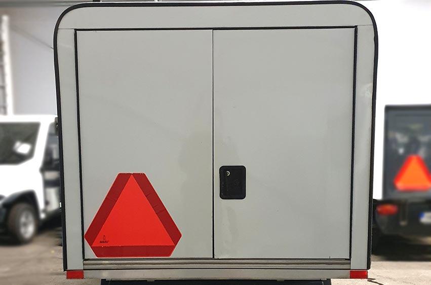 Begagnat elfordon Club Car Carryall 2 LSV 48V stor 3