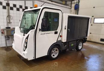 Comarth T-Truck arbetsfordon på el