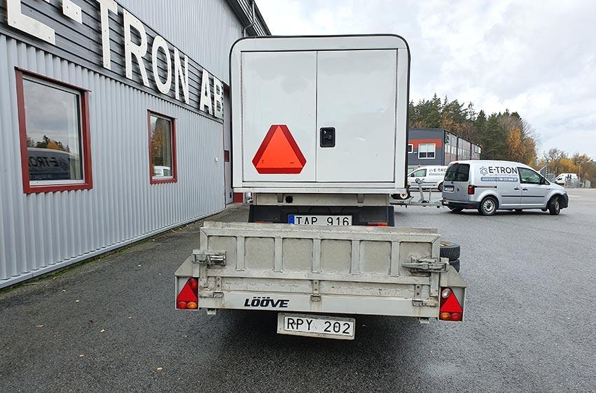 Begagnat Lööve LLS 1300 maskinsläp 2