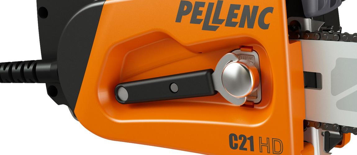 Pellenc integrerad nyckel