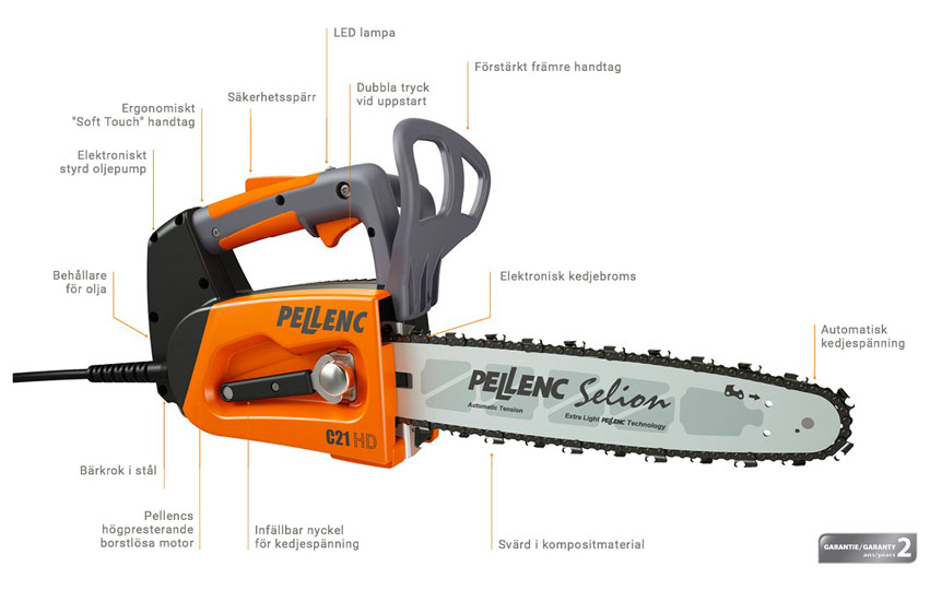Pellenc Selion C21 HD motorsåg