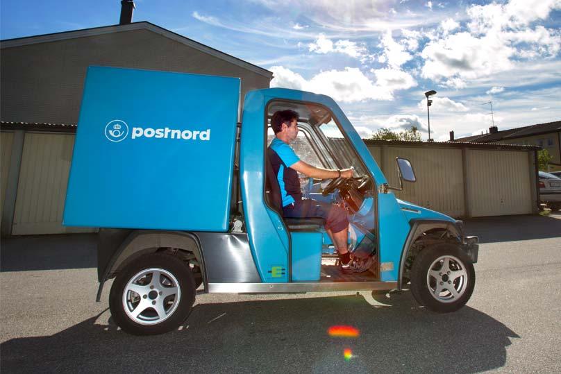 Rikstäckande servicepartner för PostNord elfordon