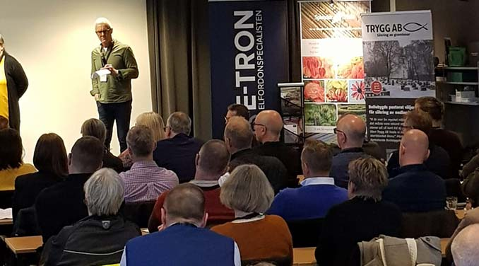 E-TRON med på Föreningen Sveriges Kyrkogårdschefers konferens