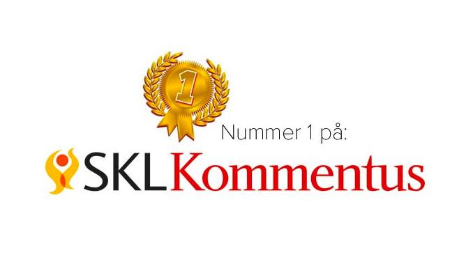 E-TRON nr 1 på SKL Kommentus i elfordonskategorien