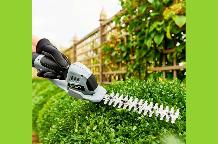 EGO POWER+ CHT2001E gräs- och busksax i kit 4
