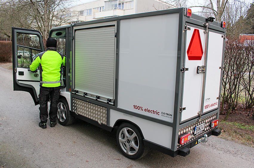 Eldriven skåpbil PRO Litium 3800