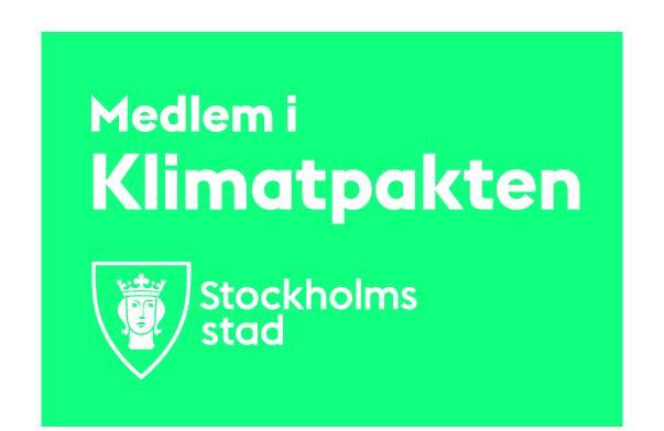 Klimatpakten - Stockholms Stad
