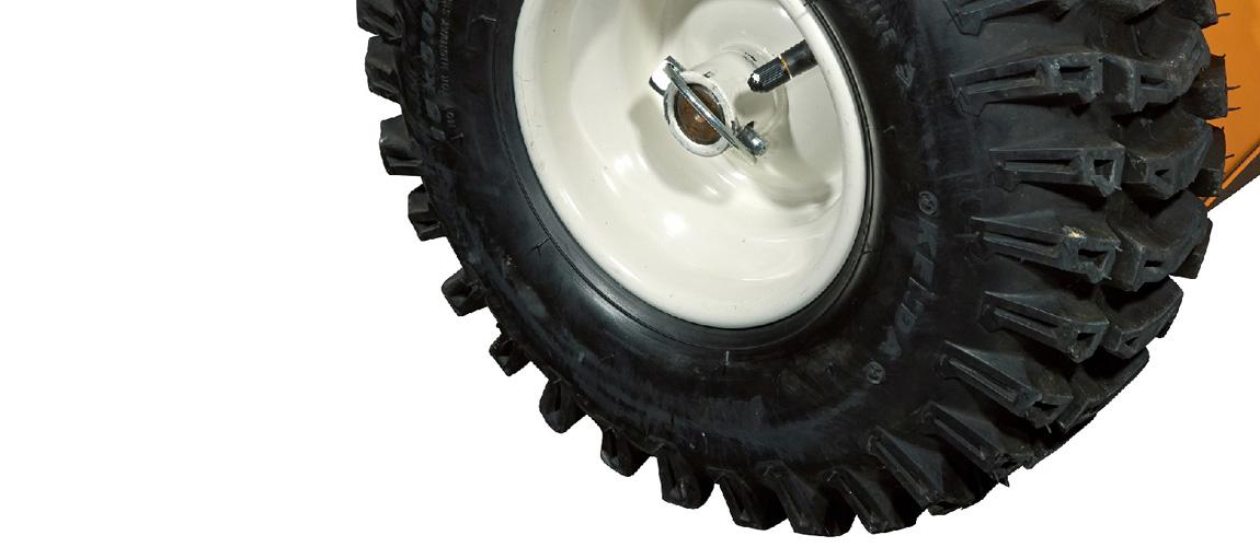 Pellenc Drift på båda hjulen