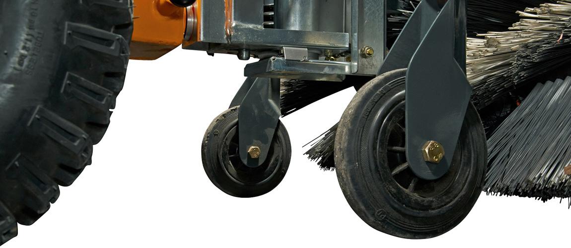 Pellenc Två stödhjul