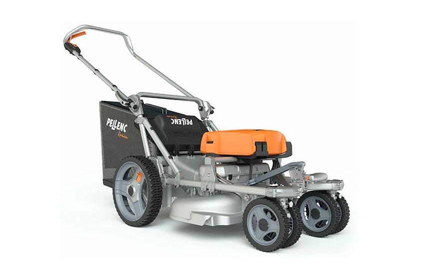 Pellenc Rasion Easy eldriven gräsklippare front