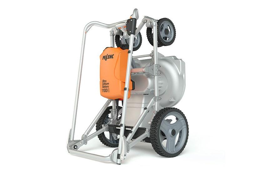 Pellenc Rasion Easy eldriven gräsklippare stående