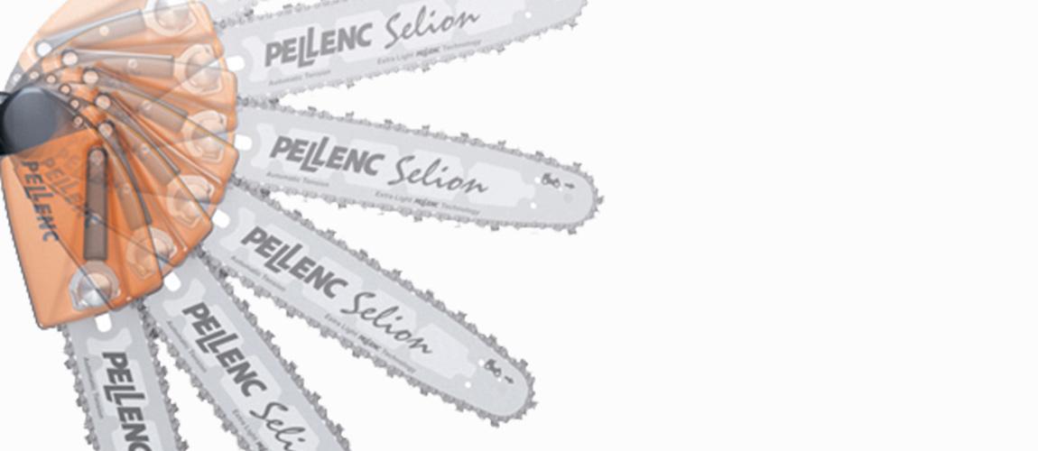 Pellenc Justerbart såghuvud