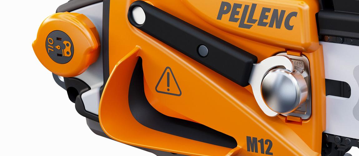 Pellenc Integrerad nyckel för kedjan
