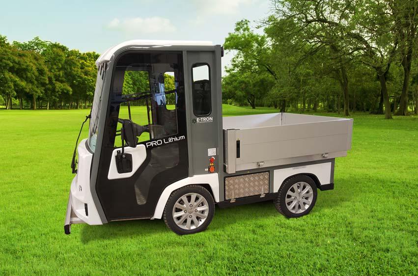 PRO Litium 3100 eldrivet arbetsfordon för parkförvaltning