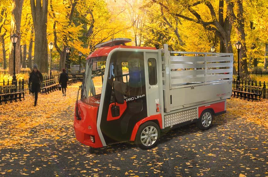 PRO Litium 3800 eldrivet arbetsfordon parkförvaltning