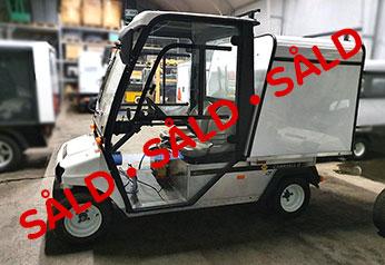 Begagnat elfordon Club Car Carryall 2 LSV 48V liten såld