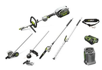 EGO Power Multiverktygspaket med motorenhet och verktyg