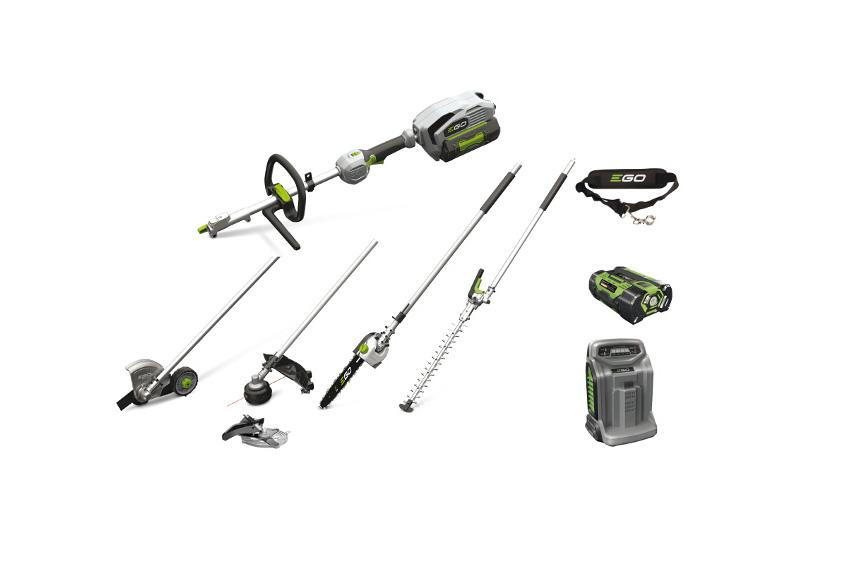 EGO Power Multiverktygspaket med motorenhet och verktyg 2