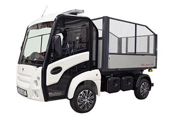 Eldriven lätt lastbil - Addax N1