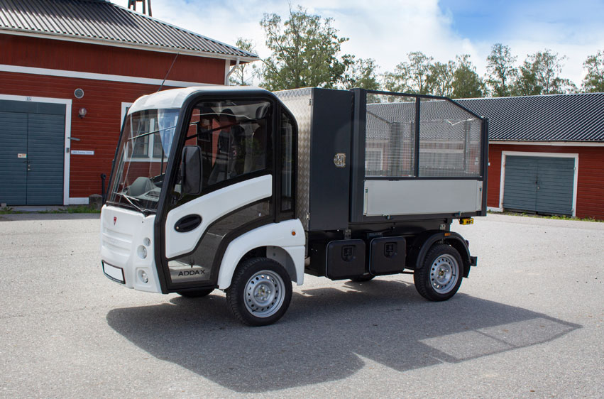 Eldriven lätt lastbil - Addax N1 kombinerad