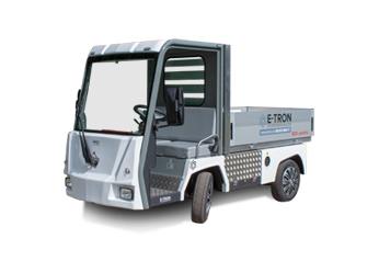 Eldriven liten lastbil PRO Litium Work Truck