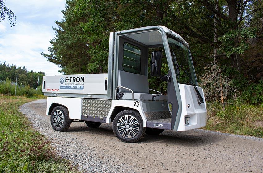 Eldriven flakbil PRO Litium Work Truck