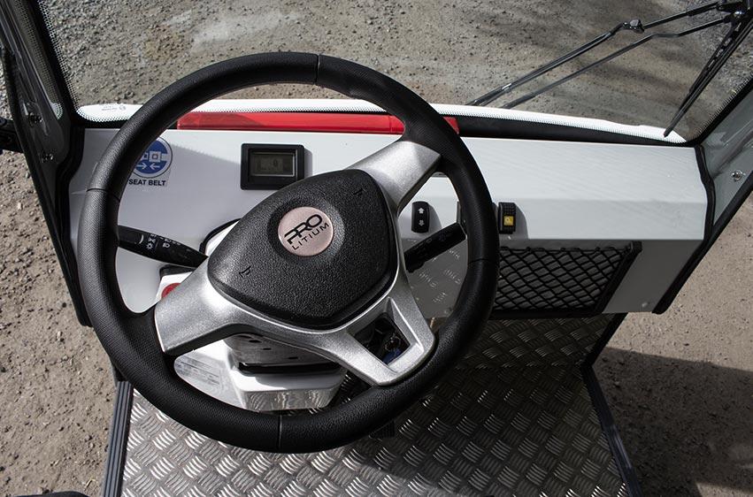 Hytt PRO Litium Work Truck eldrivet arbetsfordon