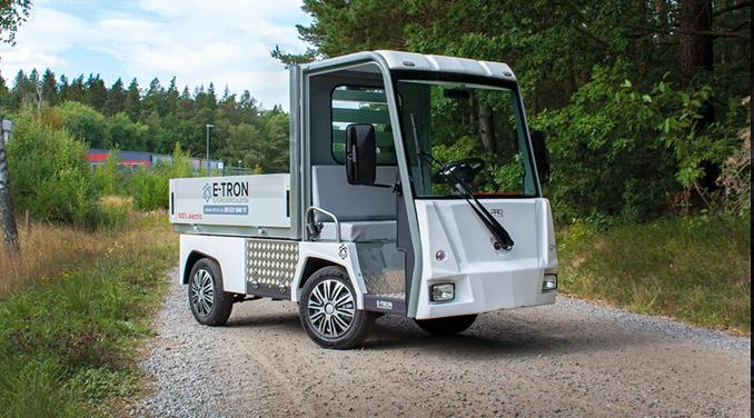 Eldrivet arbetsfordon PRO Litium Work Truck för kyrkogårdar