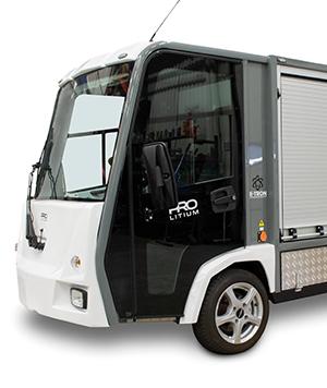 Elfordon, eldrivna lätta lastbilar och arbetsfordon från E-TRON AB
